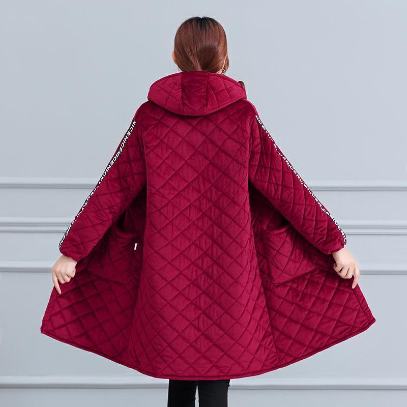 冬季中长加绒加厚保暖罩衣防污纽扣款大号围裙工作服男女通用棉衣