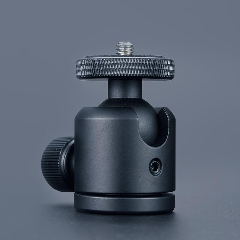 Camera small pan tilt Mini 3C digital SLR projection metal hot shoes accessories stabilizer mobile phone photo tripod.