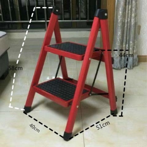 Stair folding w person ladder cabinet pedal stool ladder small pad f word household indoor engineering step room four or five ladders portable