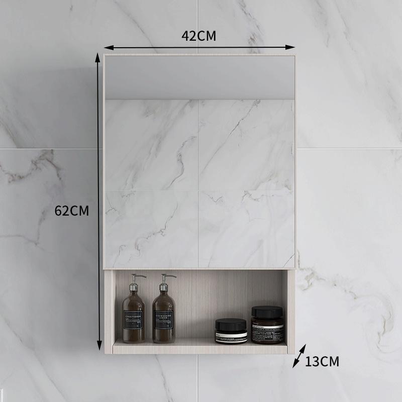 新品浴室壁挂化妆智能镜柜挂墙式卫生间带置物架厕所梳妆镜子收纳