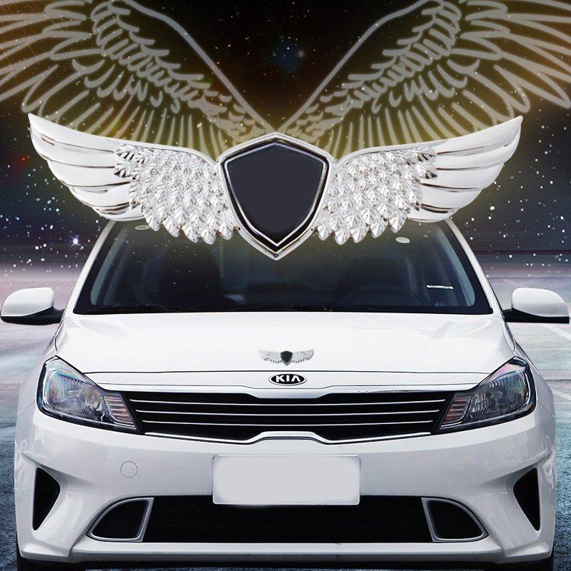 起亚车标改装汽车个性车贴K3智跑K5焕驰K2福瑞迪配件用品个性创意