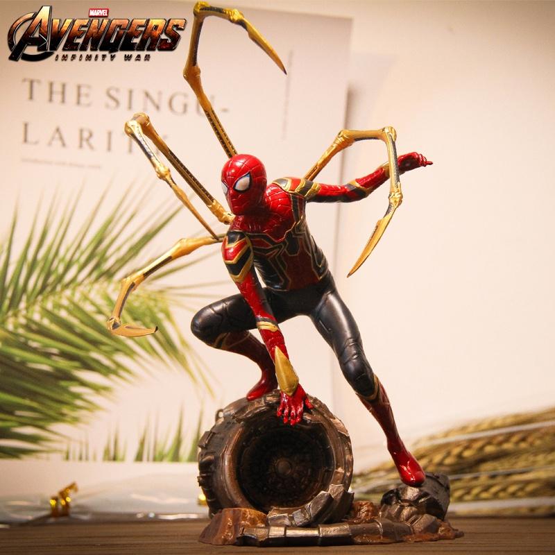 高級英雄遠征の復讐者連盟4スチールスパイダーマンの手作り映画の模型のおもちゃの振り子のセットの制限