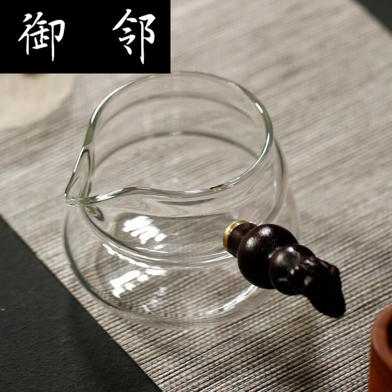 创意煮黒茶泡茶侧把壶家用透明加厚玻璃茶具茶壶耐高温烧水壶