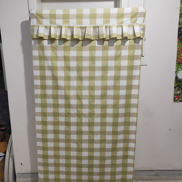 Custom made simple wardrobe cloth cover furniture dustproof cloth cover canvas coat custom made cloth cabinet shoe cabinet cover single sale.