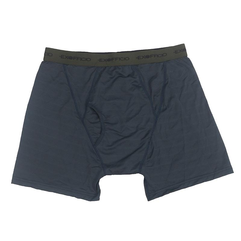 Exofficio内裤 Give-N-Go 男速干内裤三角裤花色 3条装