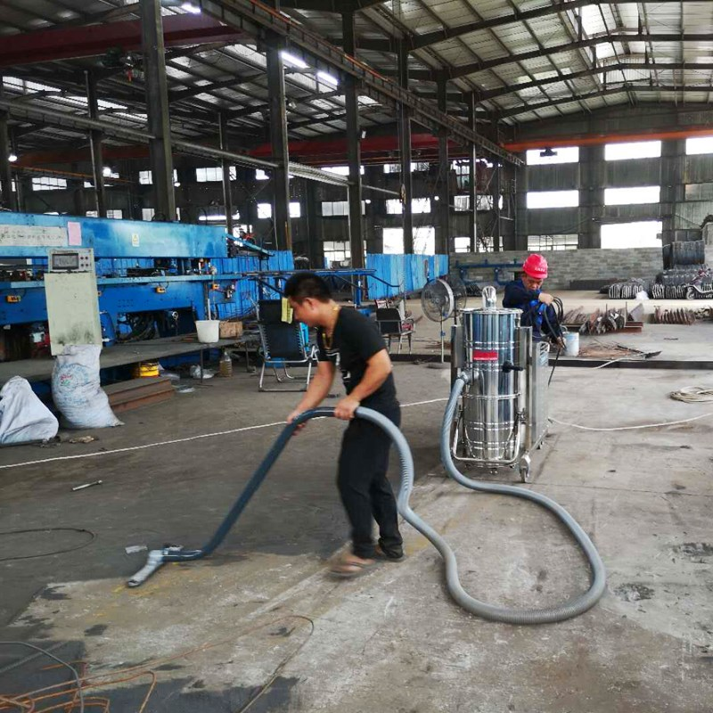High power dust collector for carbon powder iron powder titanium powder 7.5kW workshop dust collector vacuum cleaner worker.