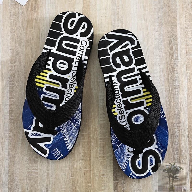 佳人不惑鸟夏季夹脚凉拖鞋字母运动休闲人字拖防滑耐磨外穿沙滩鞋