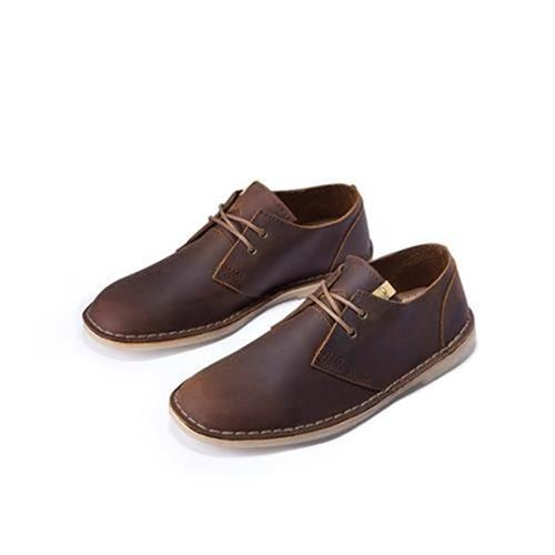 Three shoemaker British blue suede leather mens P shoes crazy Martin boots low top desert boots retro u summer breathable thin lace up