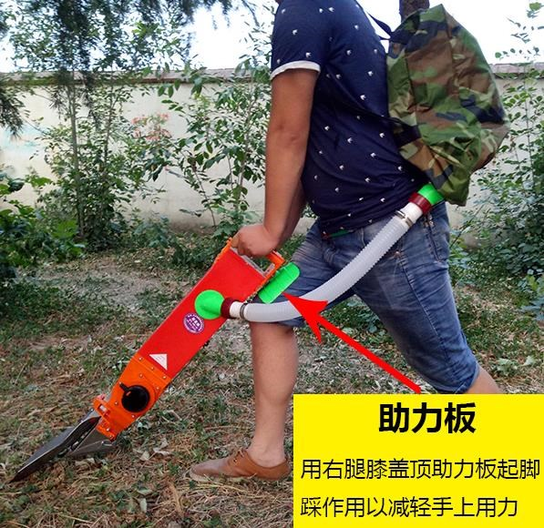 Crop furrow opener artificial fertilizer artifact fertilizer fruit tree fertilizer artifact agricultural deep bonsai cotton.