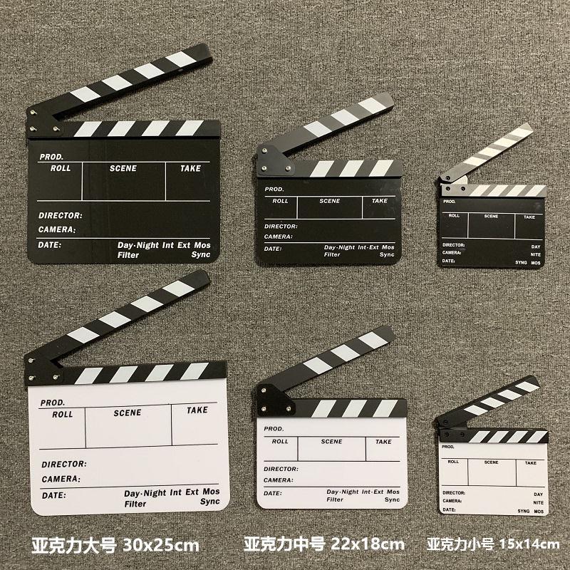 ドラマの板の小さい映画の写真家は卒業して映画の板の道具の劇を撮影します。