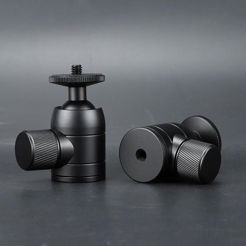 Mini pan tilt 3C digital SLR projection metal hot shoes accessories stabilizer mobile phone photo tripod.