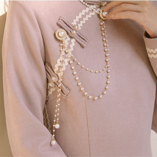 Accessories with cheongsam, pressed placket, pendant, exquisite pendant, accessories, buckle, antique brooch, Chinese clothes
