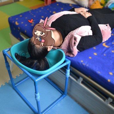 坐月子洗头神器平躺式孕妇床上瘫痪老人卧床大人躺着水池懒人病人