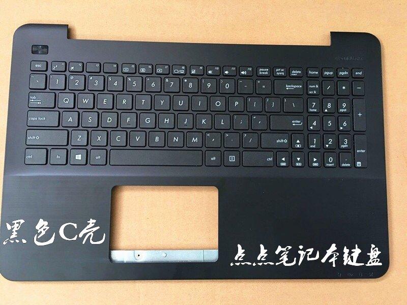 壳f555lbf554lf554uaw519cvm510ljc一体asus键盘/笔记本