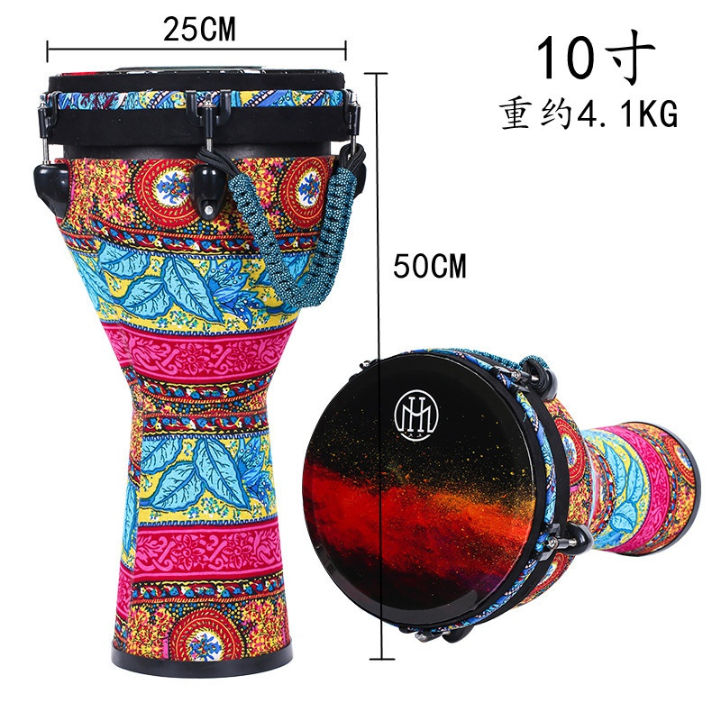 African drum pvc10 inch mechanical tuning model lightweight professional performance level 12 inch hand drum 11 inch professional