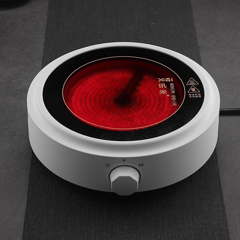戈米茶具简约电陶炉煮茶器小型迷你电茶炉家用办公烧水玻璃煮茶壶