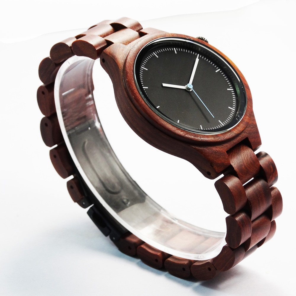 Mens and womens red sandalwood watch high quality popular watch watch foreign trade boutique watch Japanese export watch fashion watch