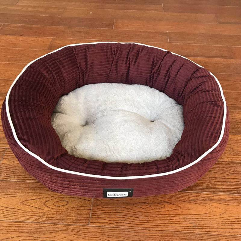 Dogs thick fur warm Thai nest pet Ke cotton pet small cushion baodiji uses more gold than bear in winter. Physical type