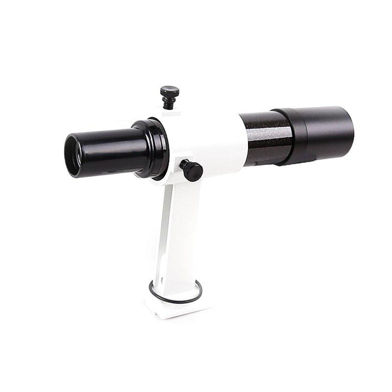 直筒6x30寻星镜及座找星寻星帮手专业观星高倍天文望远镜配件