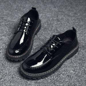春季男士单鞋水鞋休闲皮鞋厨房男鞋子防水防滑防油厨师工作鞋雨鞋