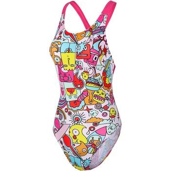 英發連體三角女競賽訓練專業游泳裝