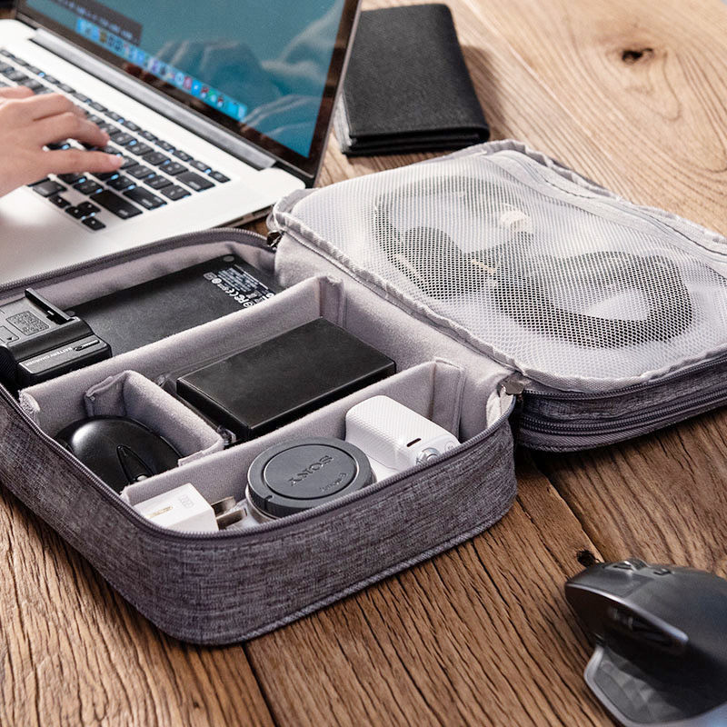 Multifunctional travel digital storage bag electronic products power bank earphone hard disk data cable storage bag