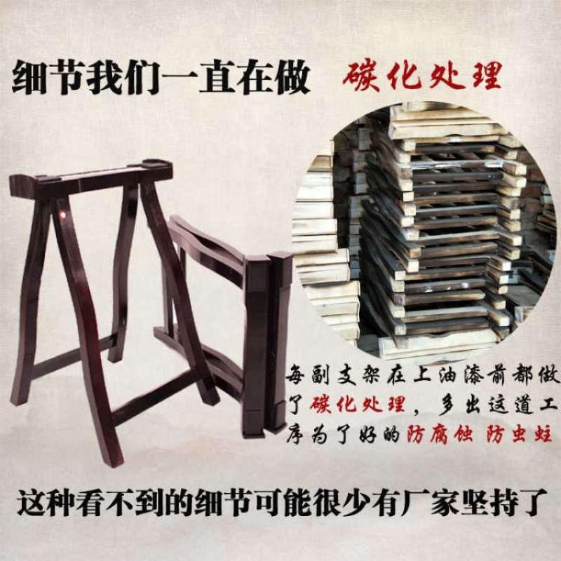古筝架子古筝A架加粗古筝高低实木架子腿古筝琴脚架大古筝架通。