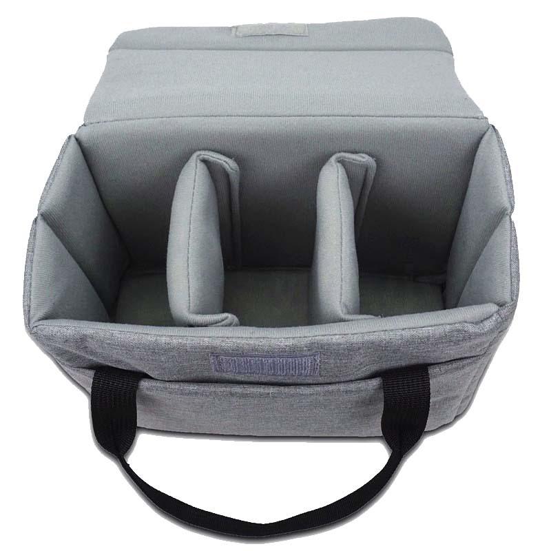 Camera portable storage bag multi-purpose bag inner bag decompression bladder folding shockproof backpack simple portable photography shoulders