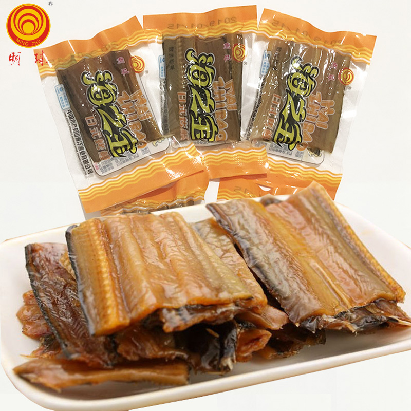 OA Zhoushan specialty pearl Japanese roast eel 500g small bag, loose eel silk dry seafood snack, instant snack bag