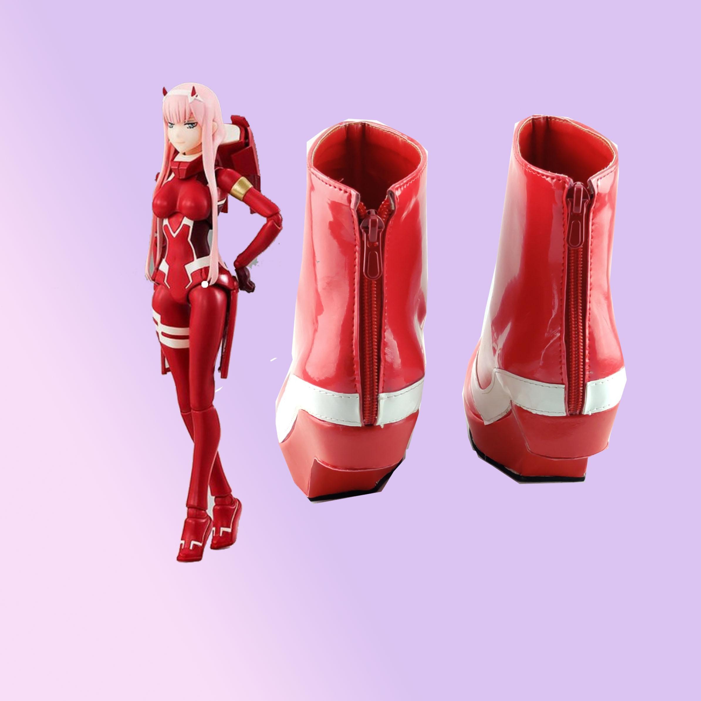 服图来cosplay国家队鞋02cos驾驶定做战斗darlinginthefranxx