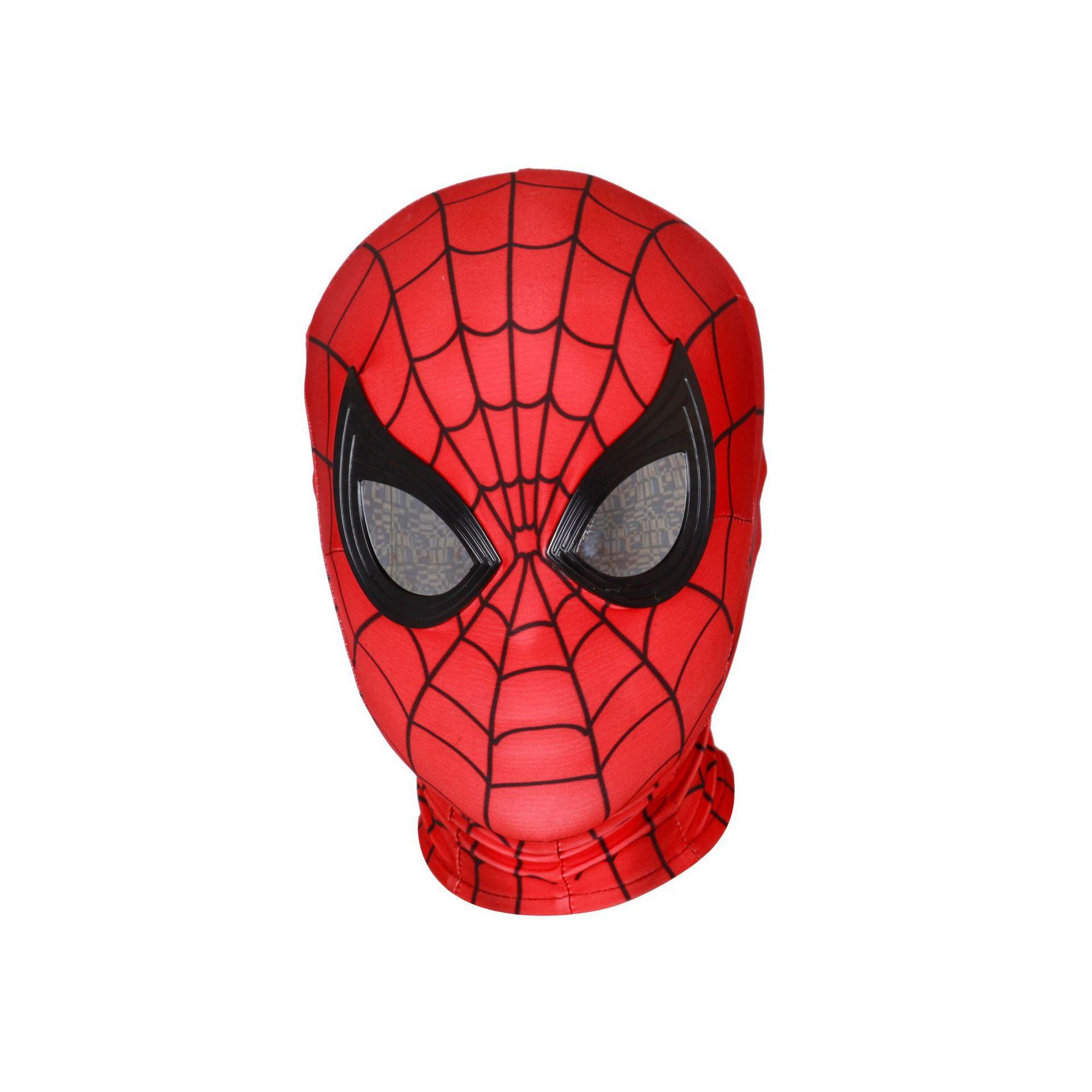 面具尔cos联盟复仇者蜘蛛侠斯头套迈男面罩威平行宇宙o弹透气漫高