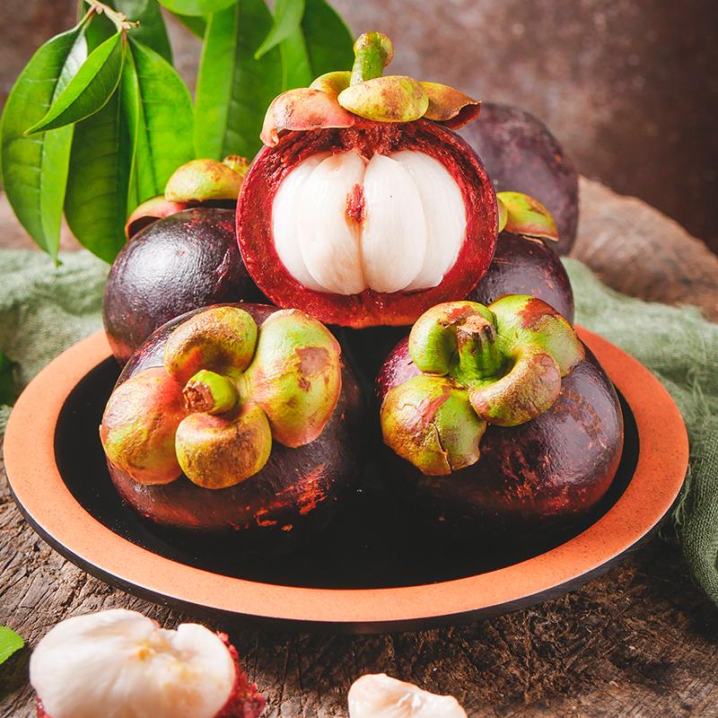 泰国进口山竹新鲜当季5A油竹宝宝孕妇水果清凉酸甜可口5斤包邮