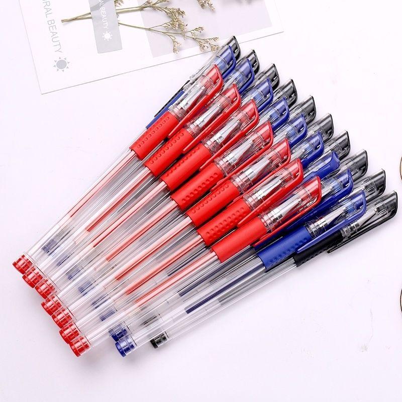 中國代購 中國批發-ibuy99 圆珠笔 中性笔0.5圆珠笔办公文具学生笔芯不可擦水性笔碳素笔水笔签字笔