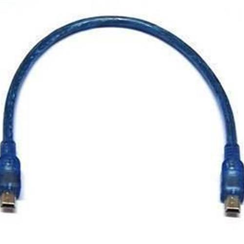 0.25m transparent blue 5p to 5p cable T-port to T-port data cable USB cable MP3 accessories MP4 accessories