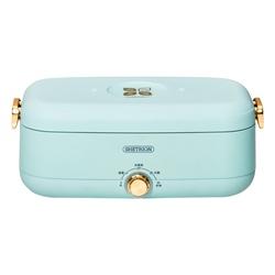 免注水电热饭盒可插电保温蒸煮上班族带饭神器加热便当便携式