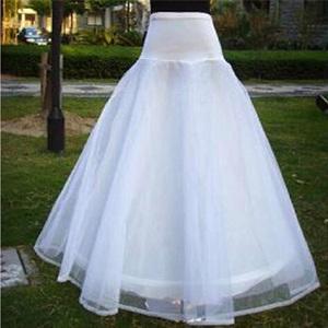 婚纱裙撑鱼尾裙撑一圈双纱束腰裙撑有骨裙撑大网状硬沙裙撑