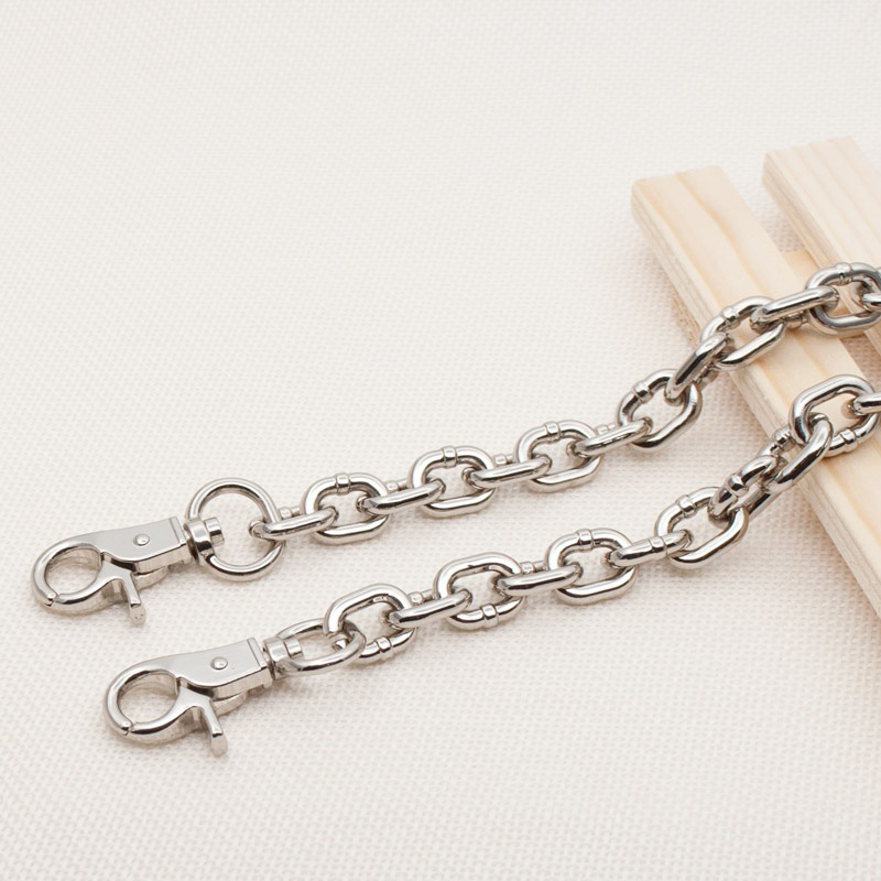 Womens bag chain bag mail chain accessories removable non fading metal chain belt single buy bag chain B iron chain bag