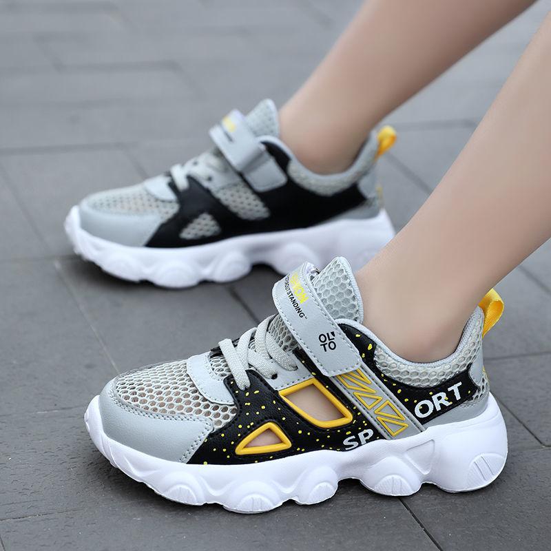 中國代購|中國批發-ibuy99|男士鞋子|男童鞋子夏季新款单网镂空透气儿童框子鞋中大童运动鞋儿童鞋子男