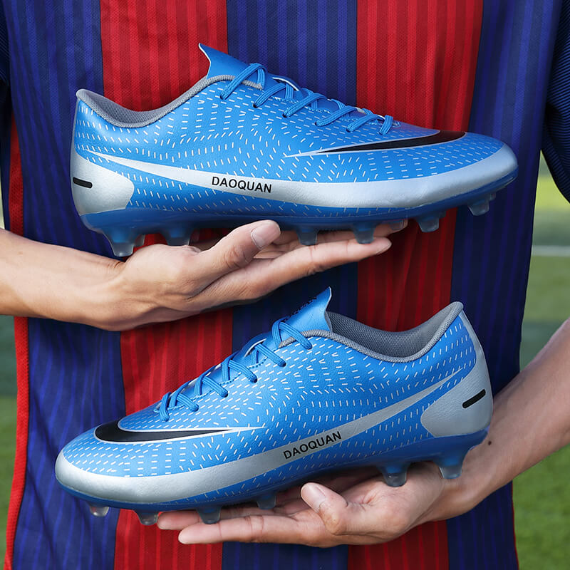 Football shoes childrens adult mens and womens training shoes competition