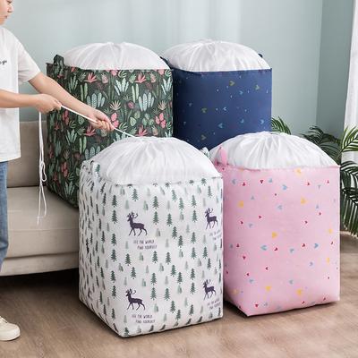 装被子收纳袋防水防潮衣服衣物棉被整理搬家打包束口抽绳被褥袋子