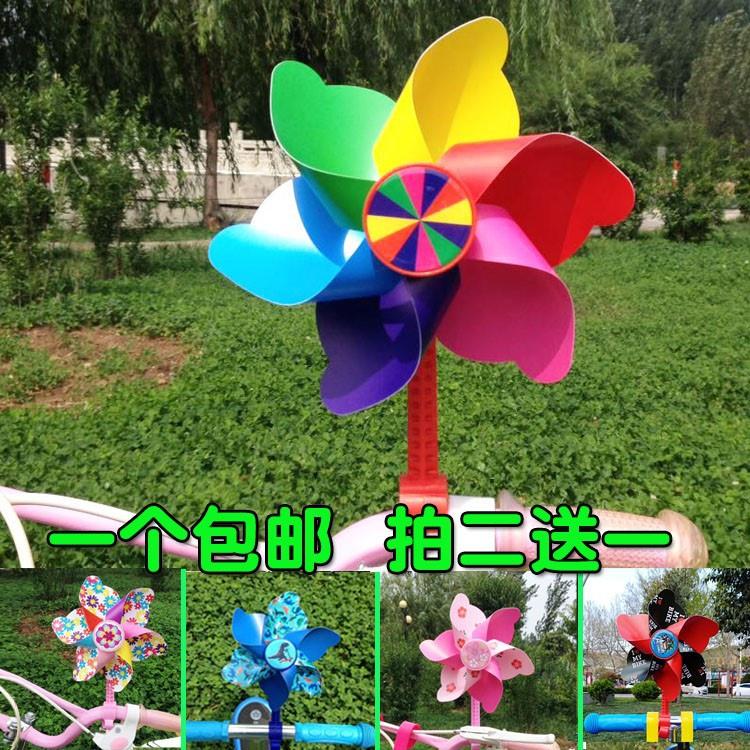 中國代購|中國批發-ibuy99|滑板|风车玩具婴儿滑板车网红挂饰儿童手持景观装饰大号户外悬挂七彩串