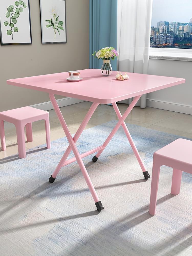 小桌子凳子简约出租房用经济型置物吃饭出租屋用宿舍地下折叠餐桌