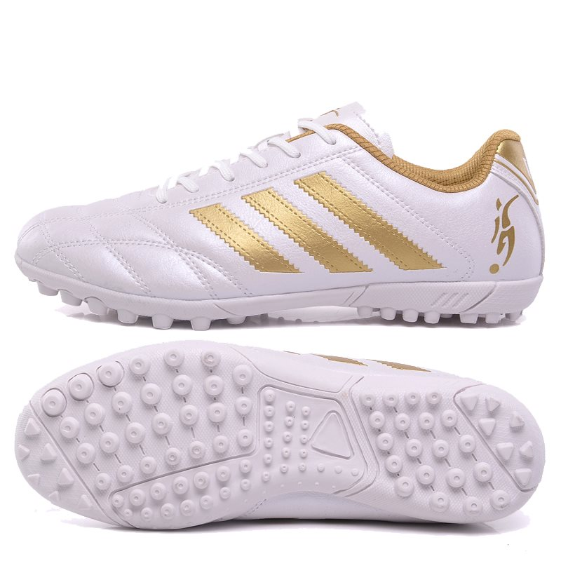 Womens football shoes boys and girls nail breaking training shoes