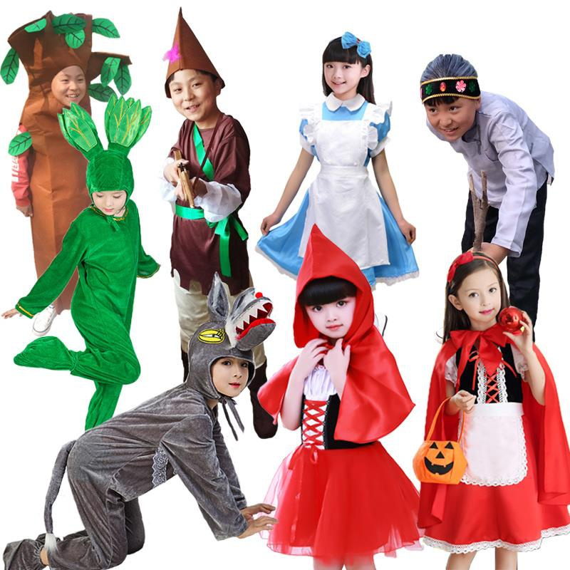 Match selling girls costume diffuse exhibition girls Fairy Tale Drama pastoral role play lovely shooting farm Europe