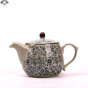 紫砂石磨自动办公室会客泡茶茶壶