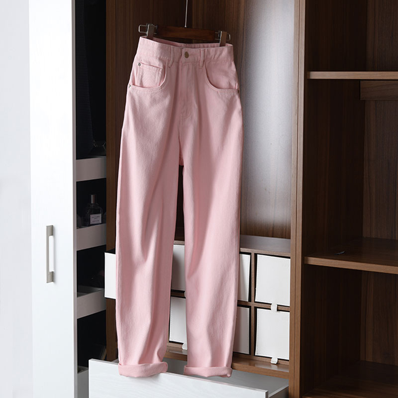 Soft, very light! Coarse twill / deep wash! Open ankle cropped pants