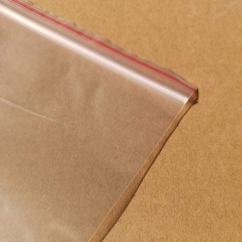 袋/密閉透明ビニール袋5インチ自/10155写真5/サンプル*アクセサリー袋番号/袋のSサイズ
