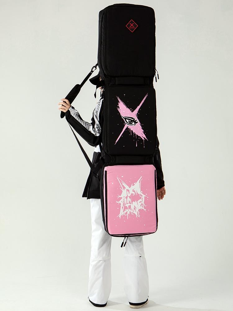 XXX双板包滑雪板包双板滑雪包大容量单板滑雪包可托运不带轮包