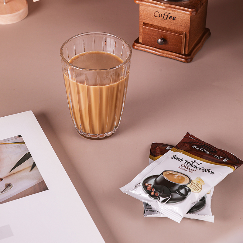 Zehe coffee original zehe Ipoh white coffee 600g instant coffee powder bag imported from Malaysia