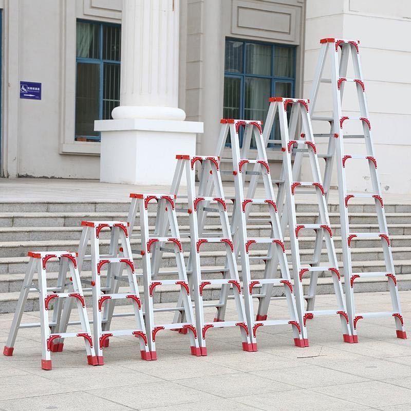 室楼梯折叠登高加厚合双侧楼梯内阁多功能家用工程梯子楼梯便携梯